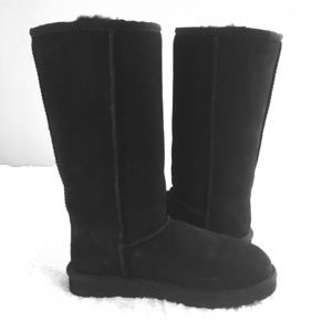 Tall Ugg Boots Black